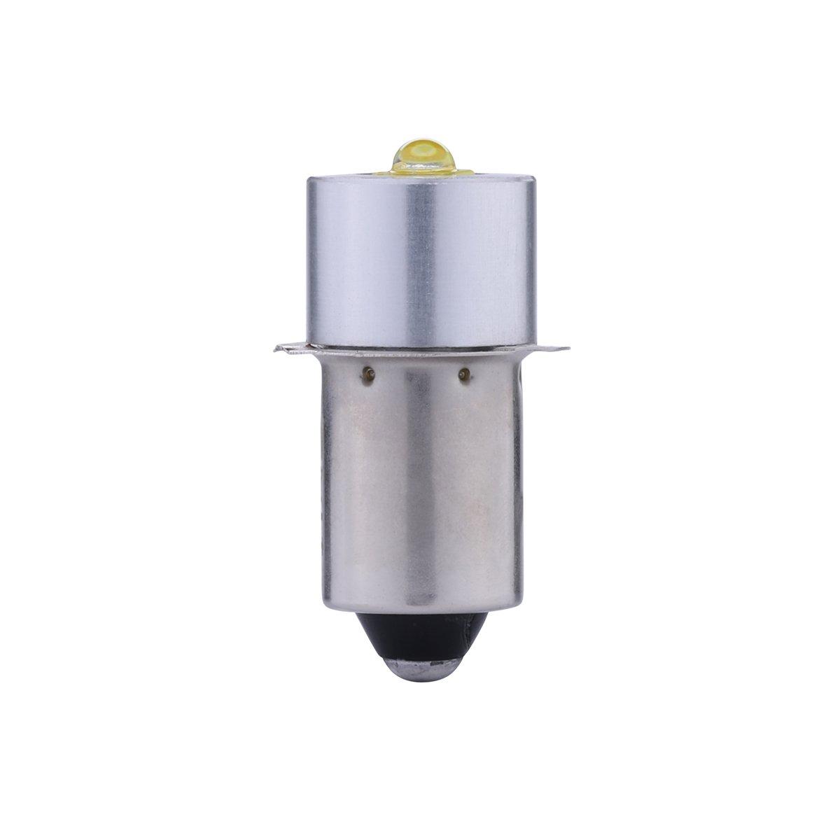 JOMITOP 18v Led Flashlight Bulb LED Upgrade Bulb for Ryobi Milwaukee Craftsman 18V Lamp Maglite Flashlight DC Replacement Bulbs Led Conversion Kit