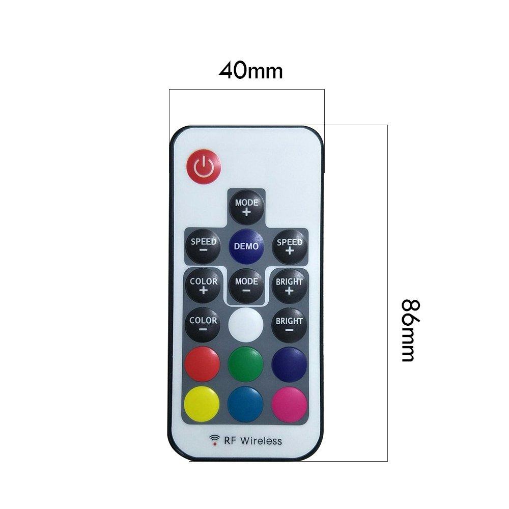 Sporting Usb Rgb Controller 5v 24v 17keys Rf Remote Controller Led Dimmer For 5v Rgb Led Portable Lighting Accessories