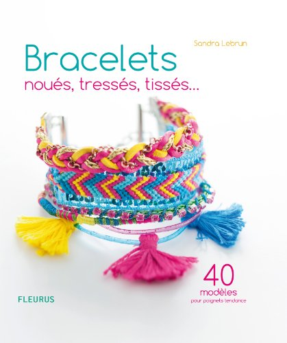 Bracelets noués, tressés, tissés… 40 modèles pour poignets - Shamballa Wrap Bracelet