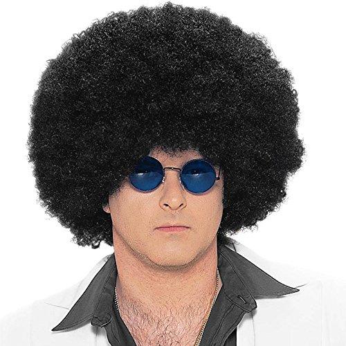 [SecondSkin Jumbo Afro Costume Wig] (70s Costumes Men)