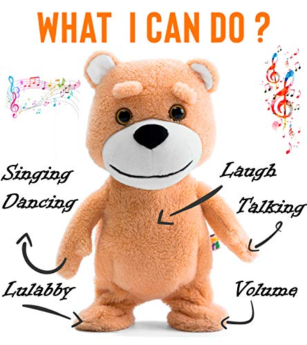 Naujova Teddy Bear - Dancing Talking Singing Stuffed