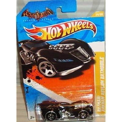 Hot Wheels 2011 HW Premiere #24/244 ARKHAM ASYLUM BATMOBILE #24/50 Collectible Car: Toys & Games