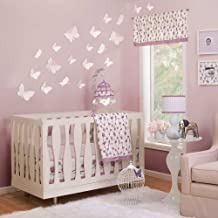 Petit Nest Sophie 4-Piece Crib Bedding Set, Purple