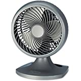 HOLMES PRODUCTS HAOF90NUC Blizzard 8 Three-Speed Oscillating Table/Wall Fan, Charcoal
