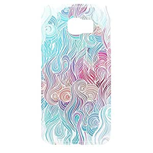 Waves Samsung S6 3D wrap around Case - Design 2