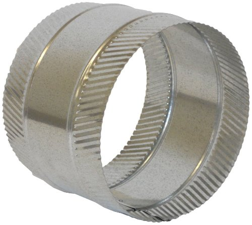 Round Duct Collar - Speedi-Products FDSC-08 8-Inch Diameter Flex and Sheet Metal Duct Splice Connector Collar