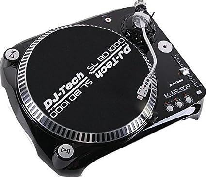 Dj Tech SLBD1000USB Belt Drive DJ Turntable
