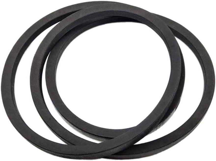 Kuumai Replacement Lawn Mower Tractor Traction Drive V Belt Fits John Deere GX20241 GX22036 L100 LA100 LA105 D100 L130,Craftsman 130969 108597X,Sabre ...