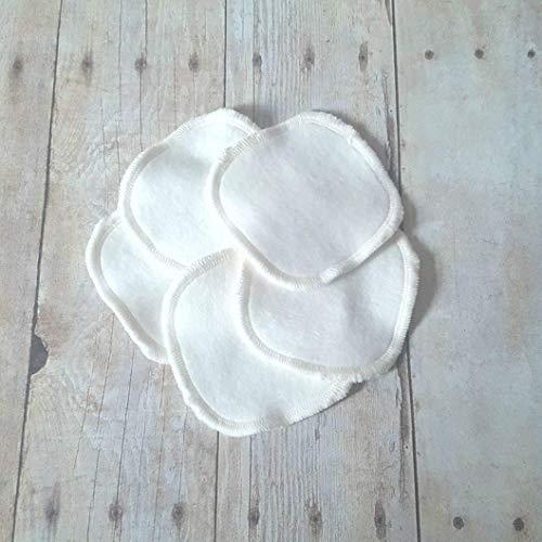 Bamboo Fleece Reusable Makeup Remover Pads - 5 pack