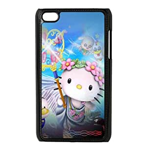 iPod Touch 4 Case Black Hello Kitty Y4Q7JL