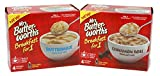 General Variety Pack - Mrs. Butterworths Breakfast for One Pancake Mixes - Buttermilk (8.5 oz), Cinnamon Roll (10.2 oz)