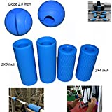 E2shop Dumbbell Grips, Barbell Grips Thick Bar Adapter Muscle Builder Weightlifting Fat Grips