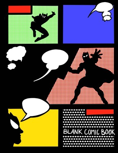 Blank Comic Book;Create Your Own Comic Book;Kids Comic