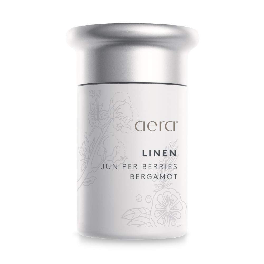 Linen Scented Home Fragrance, Bright Citruses, and Juniper Berries Frolic with Delicate Florals - Schedule Using App With Aera Smart 2.0 Diffusers - State Of The Art Air Freshener Technology