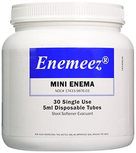 ENEMEEZ MINI ENEMA Size: 30 Count Disposable Tubes