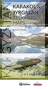 Karakol & Jyrgalan Trekking Maps - 2018 edition