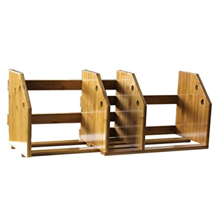 Muebles Bambú Sencilla Estantería Mesa Pequeña Estantería Estante ...