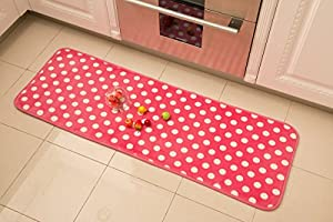 Bath Rug Kitchen Carpet Runner Mat Floor Mats Soft Doormat (15.7X47.2 Inch) for Bedroom Living Room