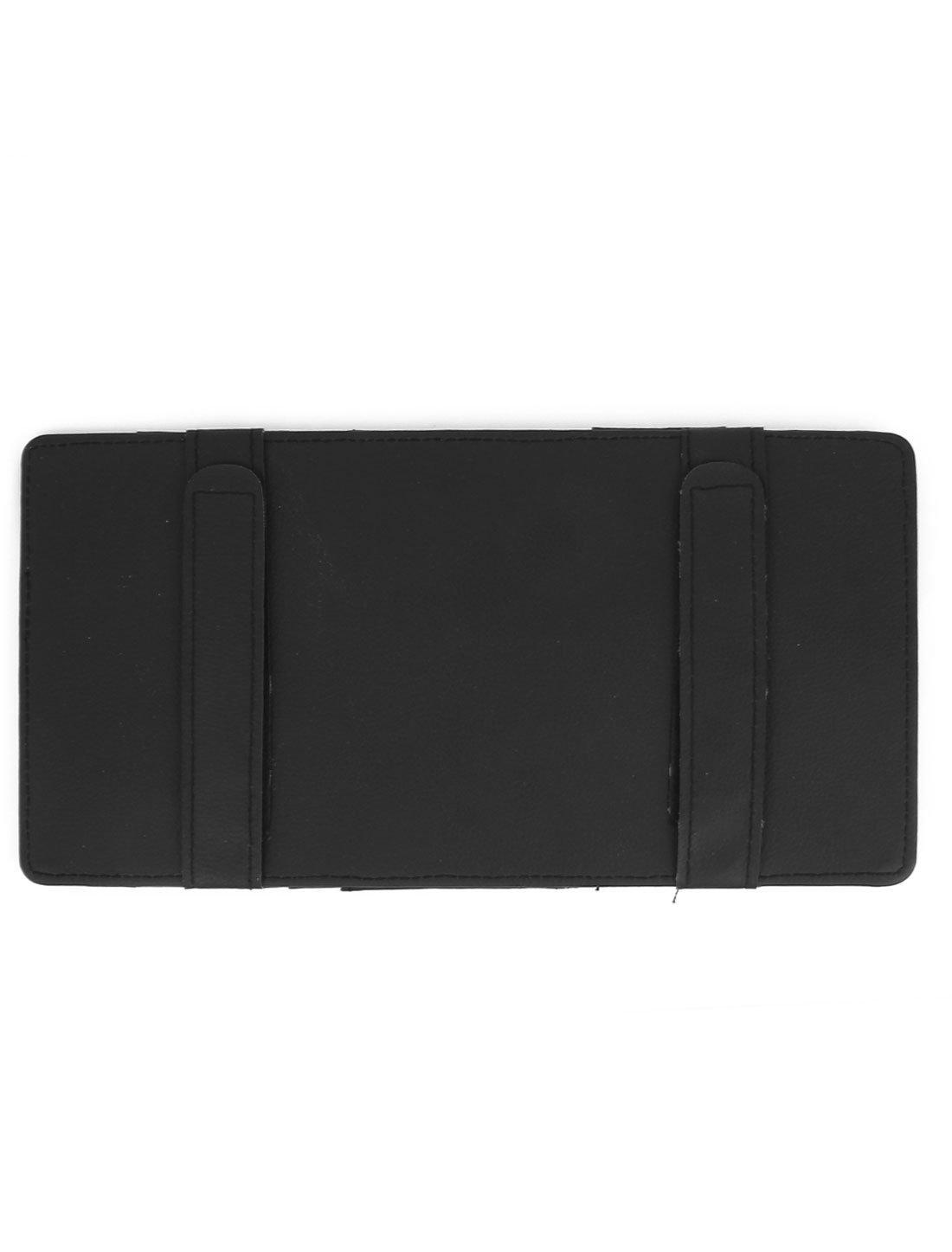 Amazon.com: Preto 4 compartimentos Carro Multi-Function CD Visor Titular bolso: Car Electronics
