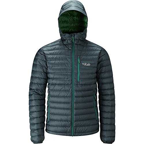 Rab Men's Microlight Alpine Jacket Evergreen Green