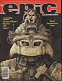 Epic The Marvel Magazine of Fantasy & Science-Fiction April 1982 Third Anniversary Issue (Vol 1, No 11)