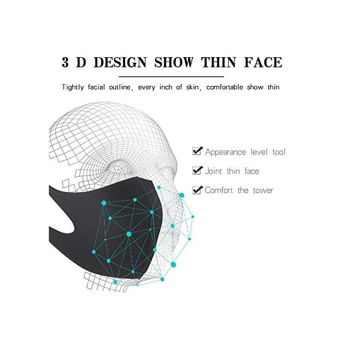 (Entrega por Royal Mail dentro de 5 a 15 días desde LILITRADE, otros vendedores son falsificaciones). Protección integral: el filtro de 4 capas puede eliminar partículas no aceitosas en el aire, incluyendo el polvo y otras partículas a base de aceite. Ideal para correr, ciclismo y otras actividades al aire libre. Transpirable y elástico: la máscara facial está hecha de polímero orgánico de alta calidad, agradable al tacto, suave y transpirable, diseño 3D, con elástico, elástico, elástico, cómodo de guardar. Antipolvo reutilizable: nuestra cubierta antipolvo para niños adultos con una estructura de filtro de malla 3D única que bloquea el 99% del polvo. Protege eficazmente a ti y a tus hijos del polen, alergias, pelo de mascotas, gases de niebla y viento y humo.