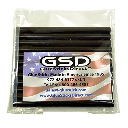 "GlueSticksDirect Blue Metallic Glue Stick mini X 4/"" 12 sticks"