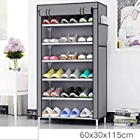 Sasimo Multipurpose Portable Folding Shoes Rack/Shoes Shelf/Shoe Racks for Home Organisers with Waterproof Cover