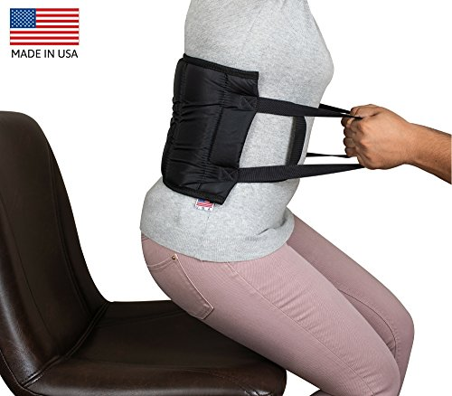 Patient Lift Sling Transfer Belt: Padded Medical Belt with Handles Helps with Transfers from Car, Wheelchair, Bed. Made in (Help Handle)