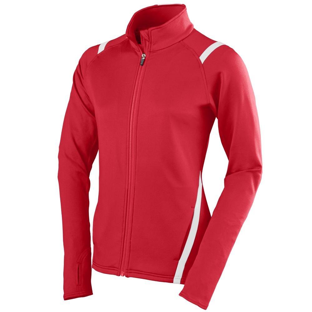 Augusta Sportswear Women's Freedom Jacket, Red/White, Small