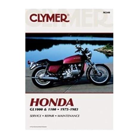 amazon com: clymer repair manual for honda gl1000 gl1100/interstate:  automotive
