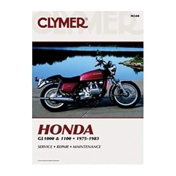 Clymer Repair Manual for Honda GL1000 GL1100/Interstate