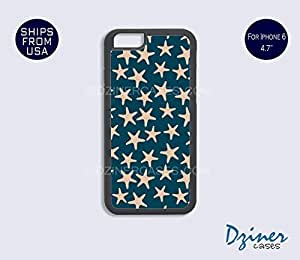 iPhone 6 Case - 4.7 inch model - Blue Stars iPhone Cover