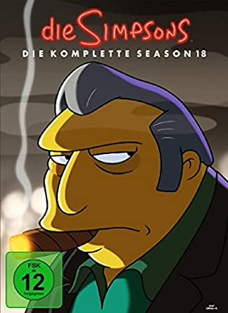 The Simpsons Die Komplette Season 18 4 Dvds Amazonde Mark