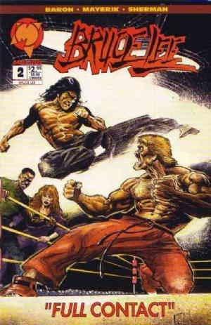 Bruce Lee #2 VF/NM ; Malibu comic book