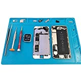 Soldering Stations Repair Pads for Fixing iPhones Watch Computer Electronics Maintenance Platform Desk Mat Heat Insulation Silicone Heat-resistant 34x23cm BGA NEW & eBook by Easy2Find
