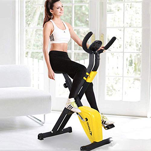 D&F Mini Indoor Cycling Bikes Exercise Bike Spinning Bike Foldable Domestic Gym Machine Fitness Equipment Sports Cycling…