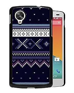 Blue Sweater Pattern (2) Google Nexus 5 Phone Case On Sale