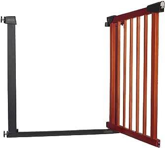 Puertas De Seguridad Puerta De Aislamiento para Niños, Barrera De La Escalera del Bebé Parque Infantil Puertas del Hogar Cerca De Perro Mascota, Altura 74,5 Cm (Tamaño : 131-138cm): Amazon.es: Hogar
