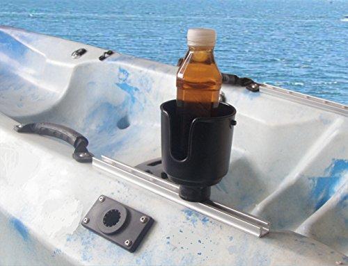 Brocraft Kayak Track Drink Holder / Kayak Cup Holder / Kayak Drink Holder