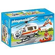 Amazon #LightningDeal 66% claimed: Playmobil 6686 Emergency Medical Helicopter Playset