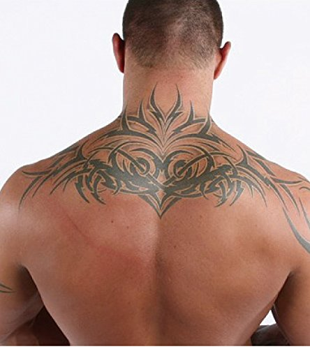 Kotbs large totem tattoo sticker similar randy orton back for Fake tattoos amazon