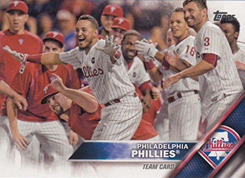 Philadelphia Phillies Mlb Card (Philadelphia Phillies 2016 Topps MLB Baseball Regular Issue Complete Mint 20 Card Team Set with Ryan Howard, 6 Different Rookie Cards and)
