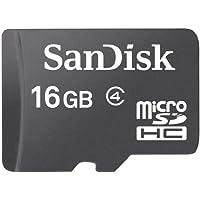 SanDisk 16 GB Class 4 microSDHC Flash Memory Card