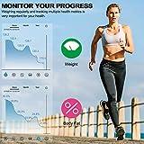 Bluetooth Body Fat Scale, Smart BMI Scale,13 Body