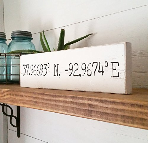 Coordinate Signs | Casual Farmhouse | Woodland | Cottage Home Style | (Cottage Style Decor)