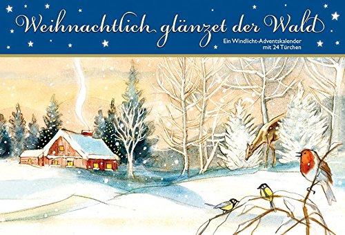Weihnachtlich Glänzet Der Wald  Ein Windlicht Adventskalender Mit 24 Türchen