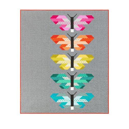 Fabric Paintbox (Robert Kaufman FRANCES FIREFLY Fabric Quilt Kit 60