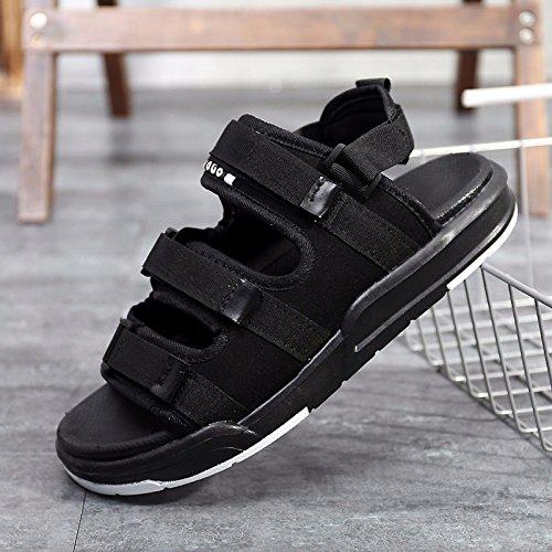 Sommer Das neue Paar Sandalen Männer Freizeit Schuh Trend Strandschuhe Männer Schuhe Bewegung Sandalen ,schwarz,US=6.5?UK=6,EU=39 1/3?CN=39