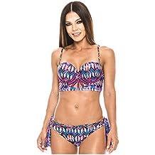 Babalu Fashion Women Bustier Swimsuit Bikini Set 13724 Trajes de Baño para Damas